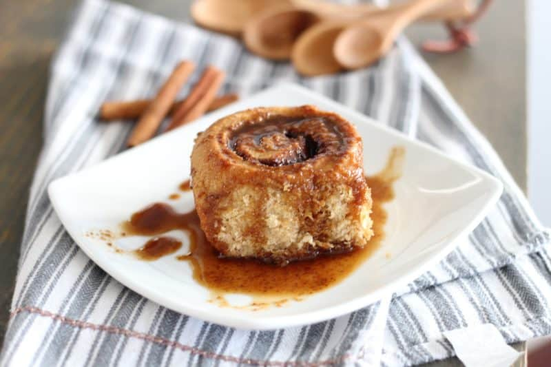 delicious refined sugar free cinnamon rolls