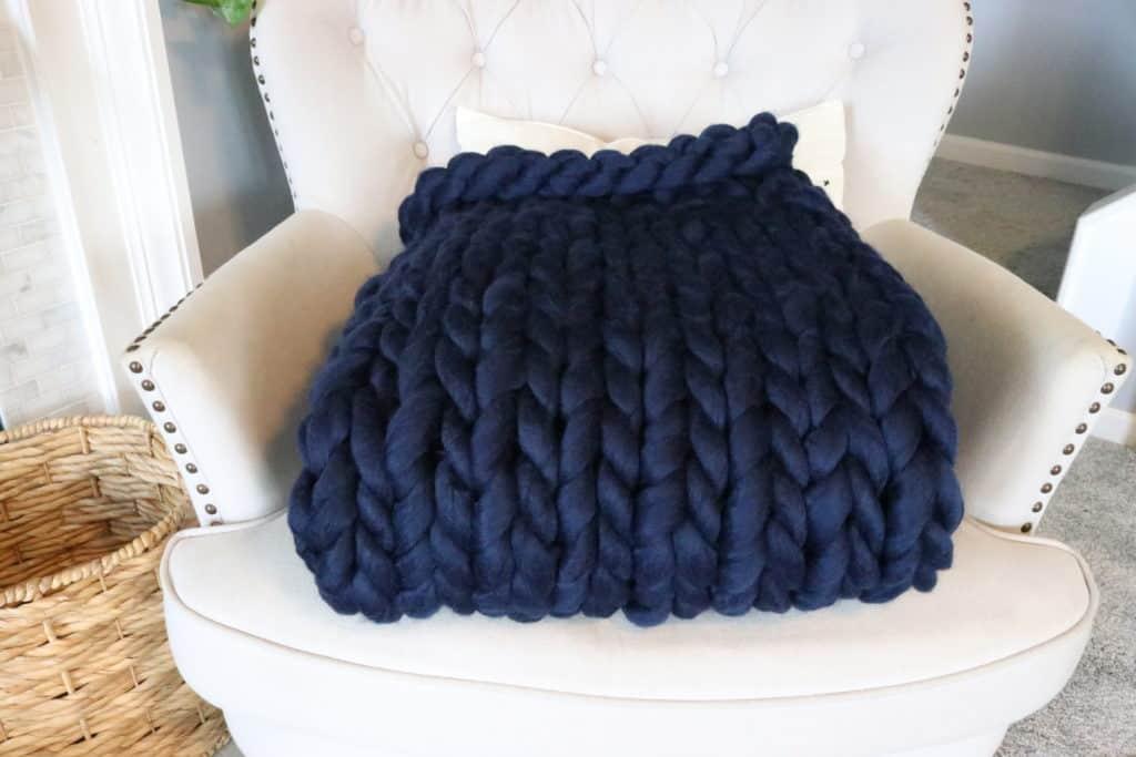 doy wool chunky blanket