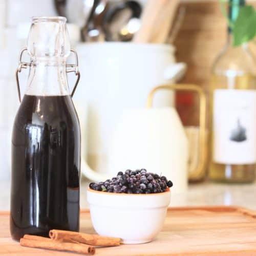 Elderberry Syrup Recipe | How To Make Elderberry Syrup