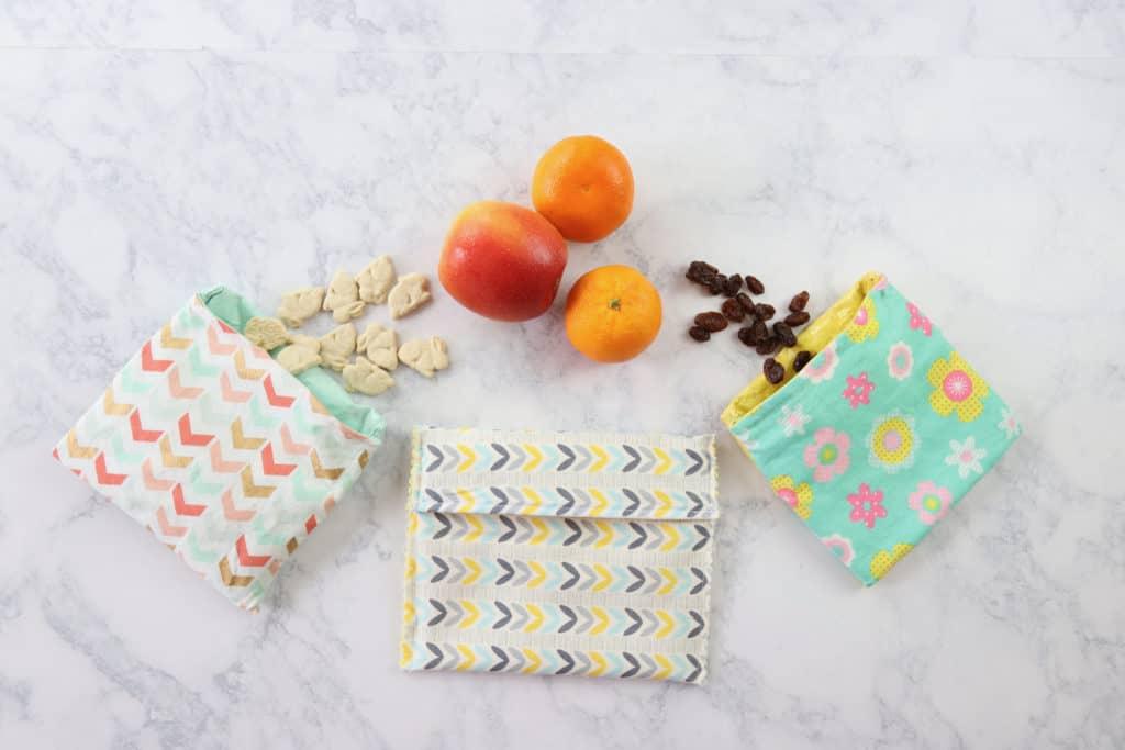 reusable diy snack bags