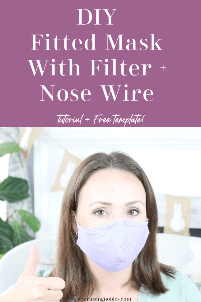 diy fitted face mask