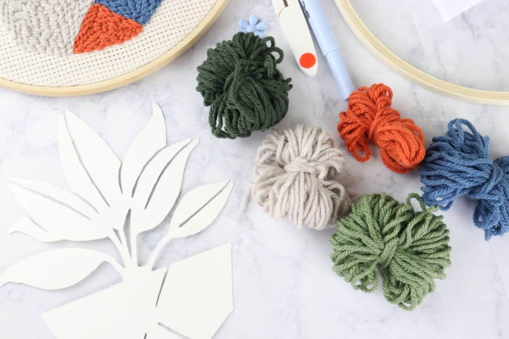 punch needle kit for beginners