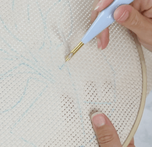 how to punch needle for beginners