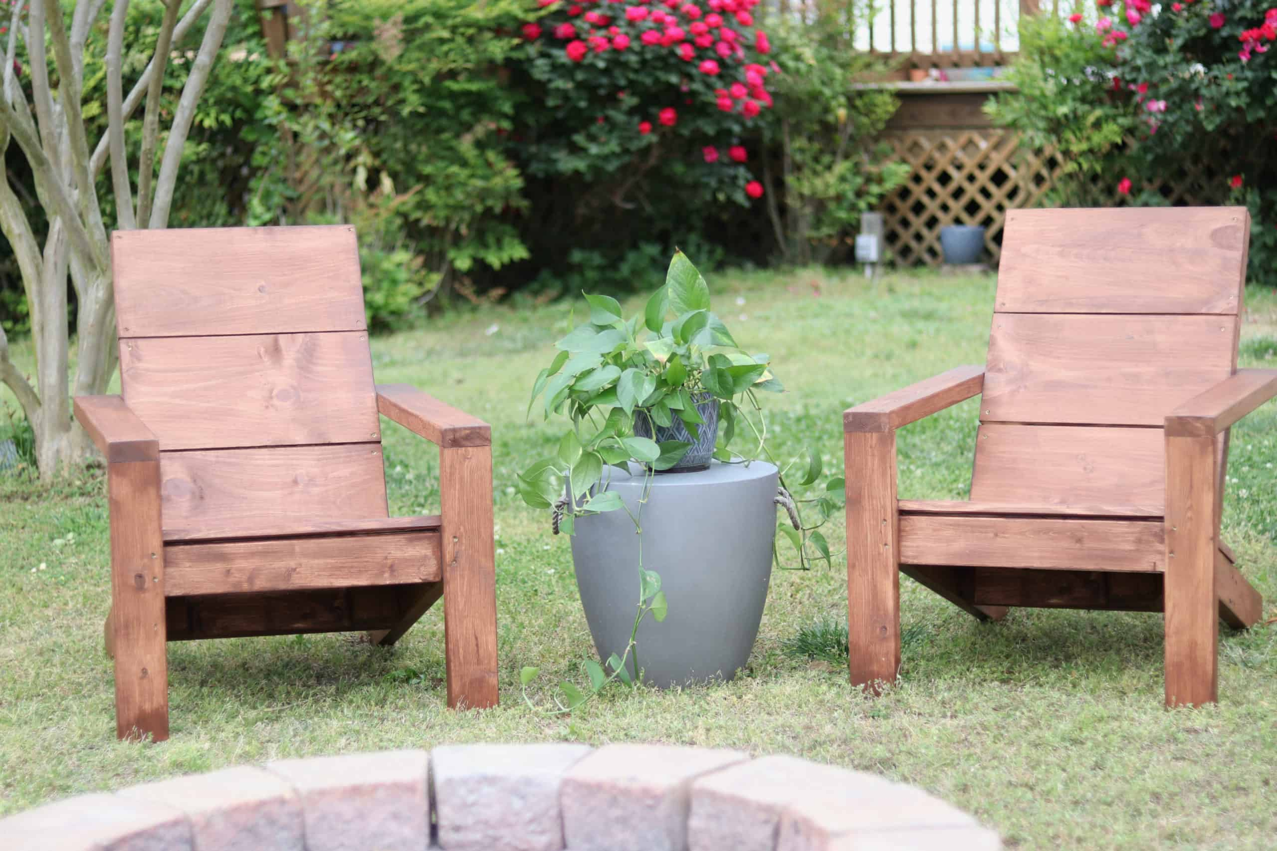 How To Build 2×4 Adirondack Chairs