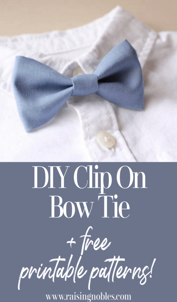 free diy bow tie patterns
