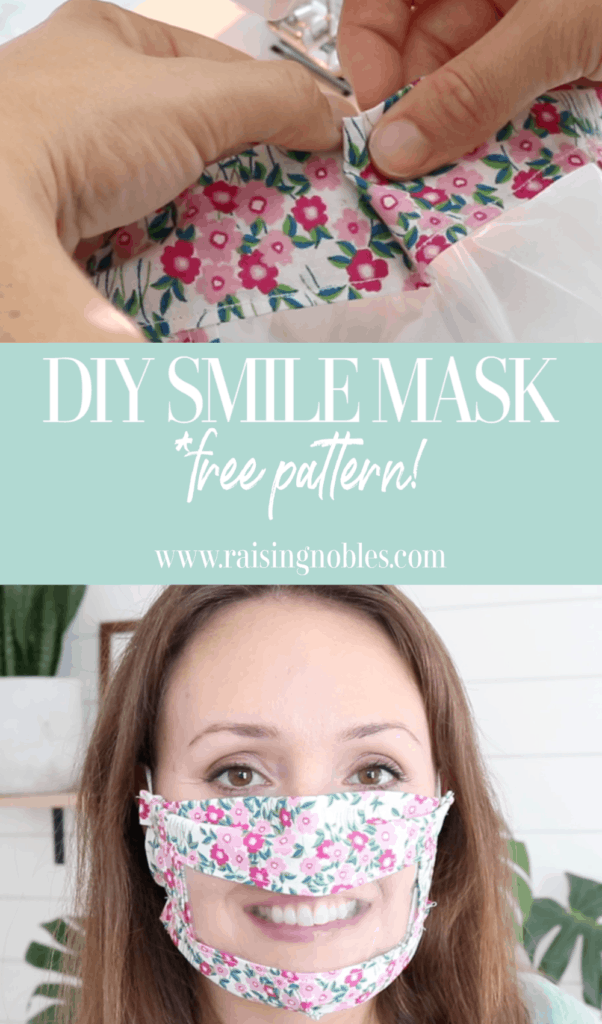 diy smile mask tutorial