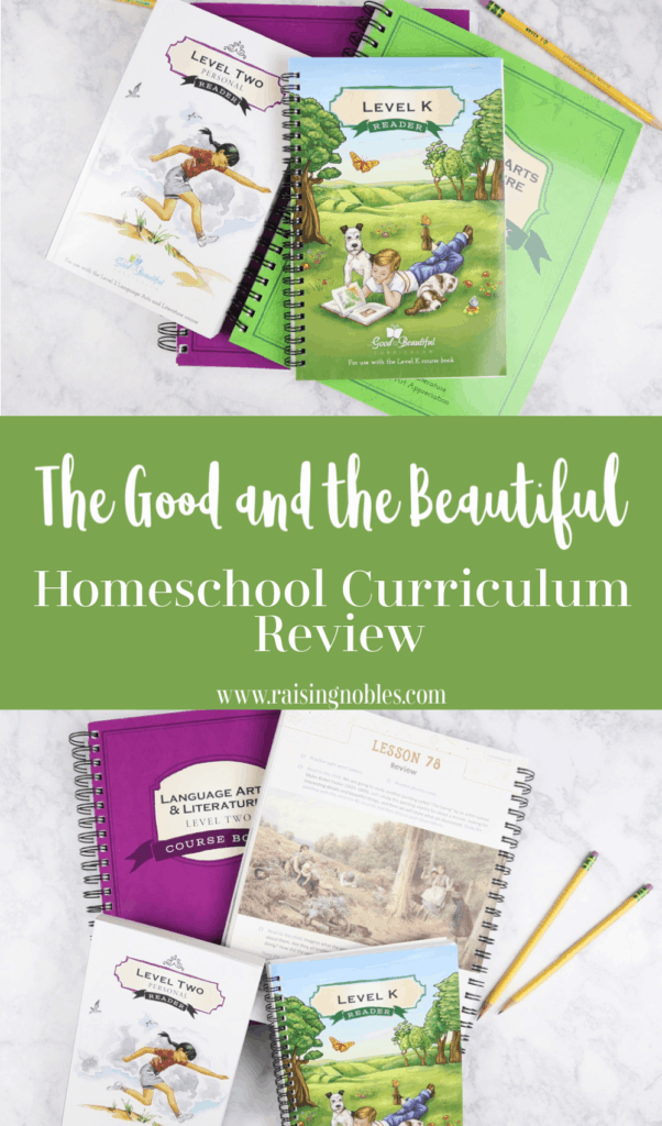 the good and the beautiful homeschool review