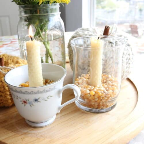 How To Make Beeswax Candles | DIY Beeswax Candles