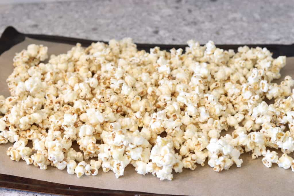 caramel corn recipe without corn syrup