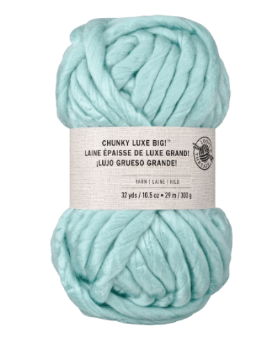 best yarn for chunky knit blankets