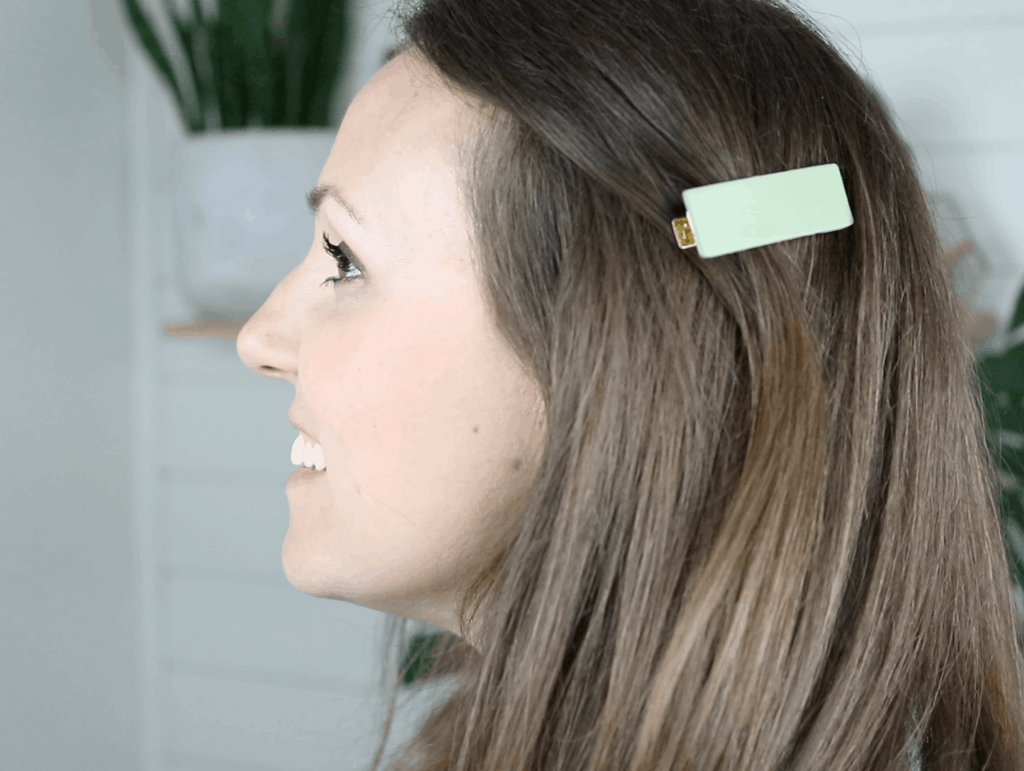 how to make polymer clay hair clips
