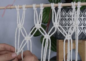 macrame fruit hammock tutorial