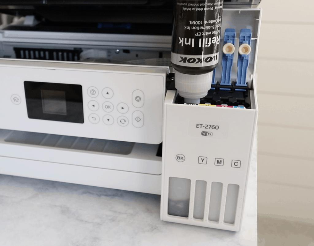 convert sublimation printer