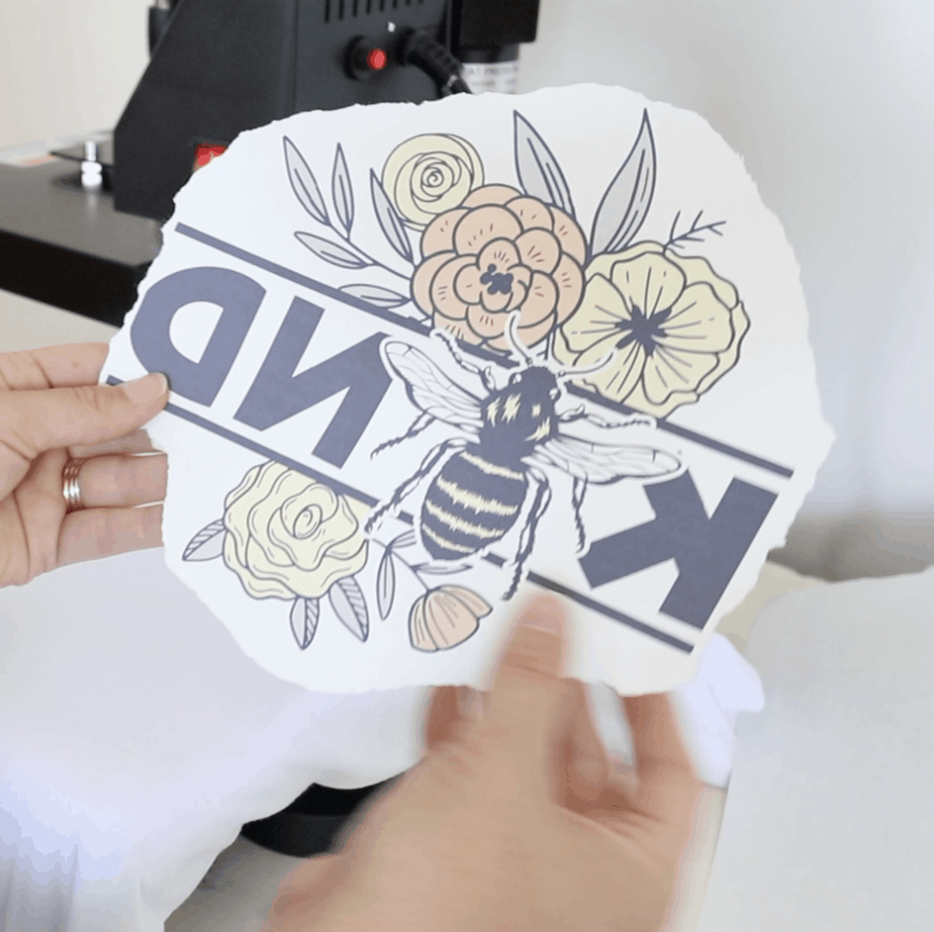 how to sublimate a t-shirt