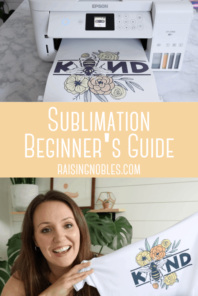 how to do sublimation